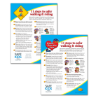 11 Steps to Safer Walking & Riding Parent Tip Sheet