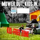 SK Lawn Mower Safety Meme
