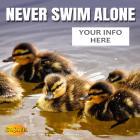 'Never Swim Alone' Water Safety Meme