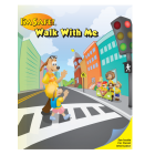 6-1390 I'm Safe! Walk With Me Activity Sticker Book - English