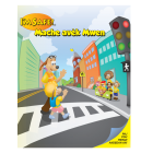 6-1342 I'm Safe! Walk With Me Activity Sticker Book - Creole
