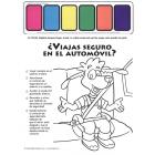 2-2550 ¿Viajas seguro en el automóvil? Car Paint Sheet