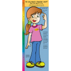 2-3560 Life Size Height Chart Display - Stacy