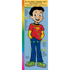 2-3780 Life Size Height Chart Display - Alejandro