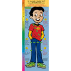 2-3890 Bilingual Life Size Height Chart Display - Alejandro