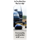 "3-4205 ""Are you a better driver when you're high?"" Bookmark"