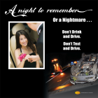 3-6072 A Night to Remember - Prom or Homecoming Tabletop Display