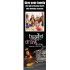 3-8004 NHTSA Holiday Buzzed Driving Bookmark