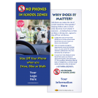 3-6219 No Phones in School Zones - Info Card
