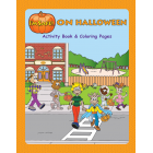 6-4050 I'm Safe! on Halloween Activity Book - English