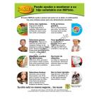 11-4015 Easy Reader Tip Sheet - MYPlate Nutrition - Spanish