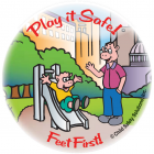 5-1716 Play it Safe Sticker - English