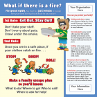 5-3742 Fire & Burn Prevention for Kids Tabletop Display
