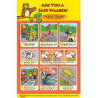 6-1380 Are You A Safe Walker? Poster - English