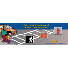 6-3810 Crosswalk Countdown Bookmark K-2 - English