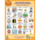 6-4790 I'm Safe! on Halloween Bingo Game - English  Front