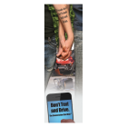 3-6025 Friends Don't Let Friends Text and Drive Bookmark - Front