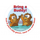 7-1500 Bring a Buddy Sticker - English