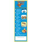 7-3210 My Water Safety Checklist Bookmark - English