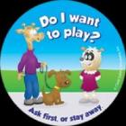 9-1310 Do I Want to Play Stickers - English