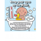 7-3244 Bathtub Safety Vinyl Cling