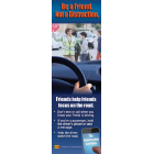 "3-6031 ""Friends Help Friends Focus on the Road"" Bookmark"