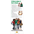 10-3010 12 Ways to Make Friends Stand Up Banner Display