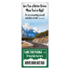"CO-5-PLC Colorado Law ""Driving High"" Info-Pledge Card"