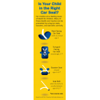 "FL2-3025 ""Is Your Child in the Right Car Seat?"" Florida Bookmark"