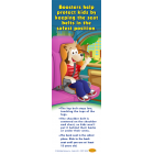 FL2-3023 I'm Safe! in the Car Booster Seat Florida Bookmark - English
