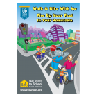 6-1381 Safe Routes Fire Up Your Feet Poster