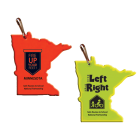 CER REF Reflective Zipper Pulls - actual color and imprint area may vary