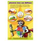 "11-4011 ""My Plate"" Healthy Eating Nutrition Poster - Spanish"