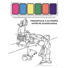 9-2920 I'm Safe! With My Pet Paint Sheet - Spanish