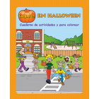 6-4051 I'm Safe! on Halloween Activity Book - Spanish