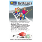 NP-1021C Safe Routes Bike-Pedestrian Safety Lights & Info Card