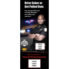 3-8005 Drive Sober Info-Pledge Card - NHTSA messaging