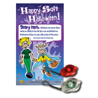 6-3045 Halloween Pedestrian Safety Lights & Custom Card