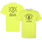 CPS Superpower Tee Safety Green