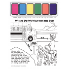 6-1845 Trans Kit School Bus Safety Paint Sheet - English