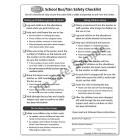 6-3395 School Bus Monitor Safety Checklist