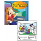 Online Car Safety Coloring & Activities