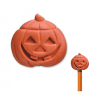 LL801585 Halloween Pumpkin Pencil Top Eraser