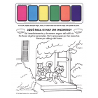 5-4421 Fire Escape Paint Sheet - Spanish - ¿Qué pasa si hay un incendio?