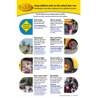 6-1381 School Bus/Van Safety Poster - Bilingual