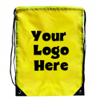 Walk To School Drawstring Backpack