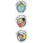 10-4880 Tween Pedestrian Safety Tattoos