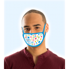 13-1044-SK Adult Reusable Message Face Mask - Your Coalition Design