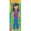 2-3781 Life Size Height Chart Display - Sofia