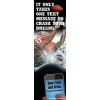 3-6105 Football Hero Distracted Driving Bookmark: It Only Takes One Message